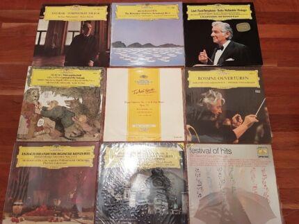 Deutsche Grammophon Gesellschaft x 9 LP Classical Vinyl Records