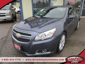 2013 Chevrolet Malibu LOADED LT MODEL 5 PASSENGER 2.5L - DOHC EN