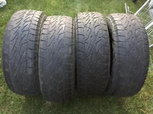 4 Bridgestone Dueler A/T Revo2 - 265/70/17 - 50% - $100 For All 4