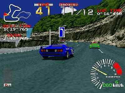 Szene aus Ridge Racer