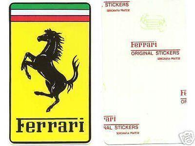 Ferrari Sticker Ebay