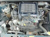 2002-2007 TOYOTA YARIS 1.4 D4D 1ND-FTV COMPLETE ENGINE 67,000 MILEAGE ONLY WITH WARRANTY