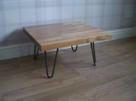 hairpin leg coffee table retro industrial shabby chic