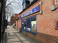 Fish and Chip takeaway shop for sale in Tamworth, Staffordshire only £60,000 quick sale