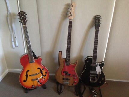 Guitar and Bass lessons. Coolum