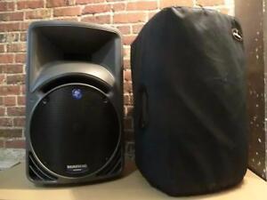 Haut-parleur, PA, moniteur de scène amplifié Mackie SRM450 v1 (i013561, i013562)