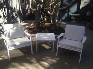Timber Outdoor Tale & Chairs Peregian Beach Noosa Area Preview