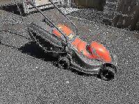 good condition flymo easymo electric lawnmower