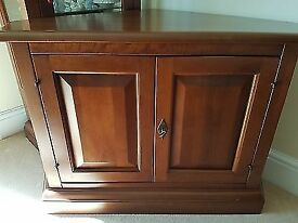 Cherry wood TV Cabinet