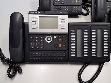 Alcatel IP Touch 4038 Office Phone system - Console + 20 Phones