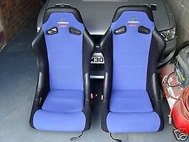 Corbeau Forza bucket seats (pair)