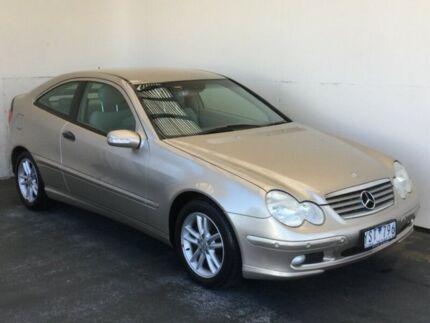 2002 Mercedes-Benz C200 Kompressor CL203 Beige 5 Speed Sports Automatic Coupe Mount Gambier Grant Area Preview