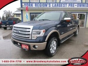 2013 Ford F-150 LOADED LARIAT EDITION 5 PASSENGER 3.5L - ECO-BOO
