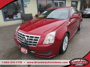 2013 Cadillac CTS LOADED ALL WHEEL DRIVE 5 PASSENGER 3.0L - V6 E