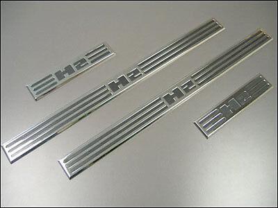 - Predator Motorsports Hummer H2 Billet Aluminum Door Sill Plates  - Set of 4