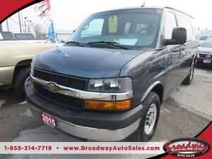 2015 Chevrolet Express 2500 PEOPLE MOVER LOADED LT MODEL 11 PASS