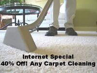 ▀▀ INTERNET SPECIAL- 40% OFF ANY CARPET CLEANING SERVICE ▀▀