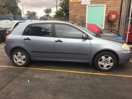 Corolla Spare Parts 2001 to 2016 Fairfield East Fairfield Area Preview