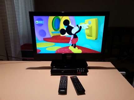 """22"""" TV And Dvd Player"""