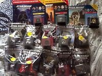 Star wars figure helmets