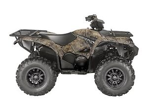 2018 Yamaha Grizzly EPS Realtree Xtra Camouflage (aluminum mag w