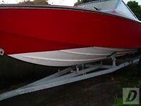 Fletcher Arrowsport Speedboat With Teleflex Steering. 15ft. Swap For Fishing Boat.