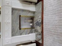 Marble Fireplace Surround, hearth and mantle