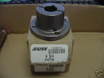 MORSE W45486 H-3/4 DRIVE SHEAVE QTY (2) NEW>