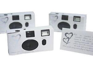 20 Disposable Wedding Cameras