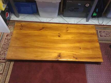 COMPUTER STAND LARGE PINE WOODEN STAND