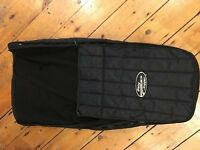 Baby Jogger Footmuff / winter cover in Black