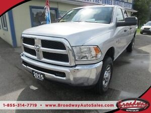 2015 Dodge Ram 3500 READY TO WORK SLT MODEL 6 PASSENGER 5.7L - H