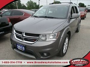2013 Dodge Journey FAMILY MOVING CREW EDITION 7 PASSENGER 3.6L -