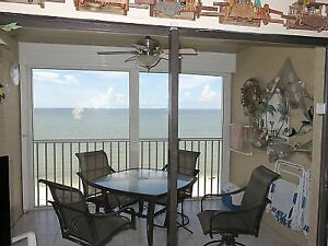 Gulf-Front Condo with Front Row Sunset Views