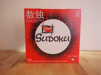 Sudoku 1-4 players w/ Wonder Board - North Ryde