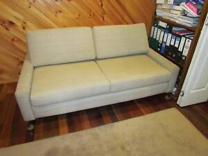 Sofa bed, Aussie built, tough as teak, hardly used, 1800 x 2400 Byron Bay Byron Area Preview