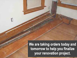 Trim and Baseboards...Free Delivery