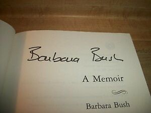 Barbara Bush 1st edition book Cornwall Ontario image 2