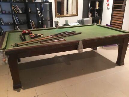 Pool Table, Heiron and Smith