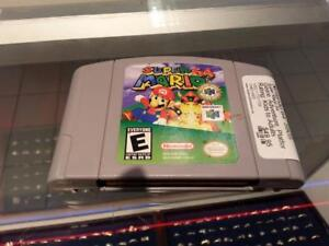 Super Mario 64 For Nintendo 64. We Sell Used Video Games For NES, Atari, Xbox, Playstation, Nintendo, Etc. (#5805)