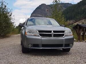 2008 Dodge Avenger SXT with the sports package