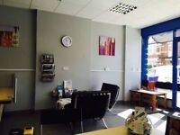 Shop Front Desk Space in Harrow