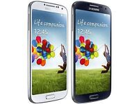 SAMSUNG GALAXY S4 UNLOCKED MINT CONDITION COMES WITH WARRANTY & RECEIPT