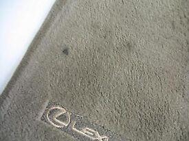 Genuine Lexus GS300 FACTORY car floor mats (GREY)