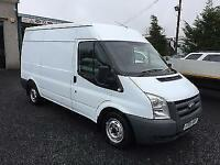 Ford Transit t280 mwb 110 bhp low roof 2009 09 Reg Only 2 owners from new