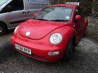 VW Beetle breaking for all parts