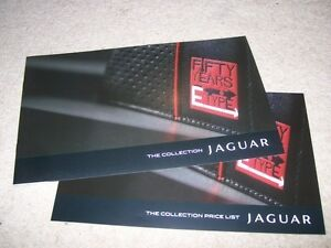 Jaguar E-Type 50 year Collection Brochure 2011 + Prices
