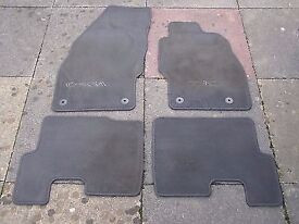 genuine vauxhall corsa front and rear car mat