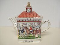 Vintage Sadler brand Teapot (collectible) - A Day At The Races