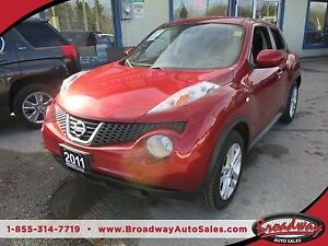 2011 Nissan Juke FUEL EFFICIENT SV MODEL 5 PASSENGER 1.6L - DOHC